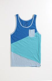 Ajay Angle Block Tank Imma Buy so much tanks its not funny! Simple Shirts, Casual Shirts, Le Polo, Lifestyle Clothing, Sharp Dressed Man, Polo T Shirts, Striped Tank, Athletic Tank Tops, Menswear