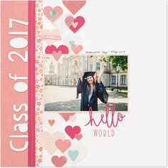 3 Ideas for Scrapbook Cover Pages