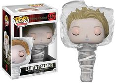 Talk about that gum you like coming back in style: who would have ever thought Twin Peaks would get Pop! Vinyls AND actual action figures? Well thankfully, Funko pays attention, and it seems like the moment anyone gets press for making customs, Funko pursues the actual license. It happened with Stranger Things, and now with Twin Peaks, with the company even making the exact four that were customized, plus more—and you can see them in our gallery below! But 3-3/4 inch figures? That was mo...