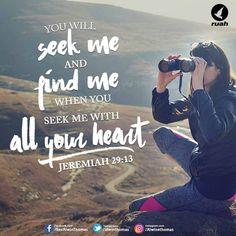Jeremiah 29:13 (NIV)  #dailybreath #bibleverse #ruahministry #alwinthomas #seek #find