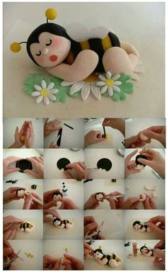 Bee Topper Picture Tutorial