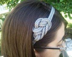 DIY Tutorial: DIY Nautical Rope / DIY Not-so-nautical rope headband - Bead&Cord