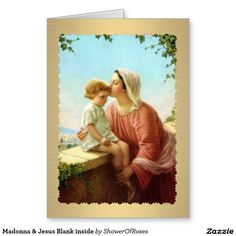 Madonna - Mary Jesus by Waiting For The Word, Divine Mother, Blessed Mother Mary, Blessed Virgin Mary, Religious Pictures, Jesus Pictures, Religious Icons, Religious Art, Image Jesus, Images Of Mary