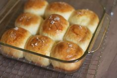Buttery-fluffy dinner rolls that you can make today, freeze, and bake on Thanksgiving!