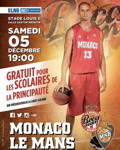 #Fontvieille Le choc de la #J11 de #ProA, AS Monaco Basket / Le Mans, le 4e reçoit le 3e… Ce samedi 19h à Gaston-Médecin !  #RocaTeam #asmbasket #LNB #proA #team #basketball #asmonaco #monaco #montecarlo #munegu #france #lnb @jamalshuler @larry.light @euro_hooper84 @amarouxx @surge_ukr @a_uter8 @yak24 @akpo11 @aaroncel5 by asmonaco_basket_official from #Montecarlo #Monaco