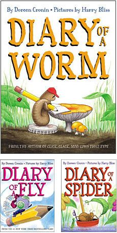 Diary of a Worm - A great mentor text for an animal research unit. The students write diary entries for their chosen animal.