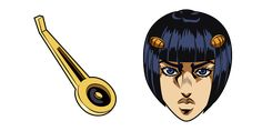 The leader of the Passione gang - gangster Bruno Bucciarati, and one of the many zippers from his white costume in the anime cursor from the JoJo's Bizarre Adventure series. Jojo Jojo, Jojo's Bizarre Adventure, Yandex, Microsoft, White Costumes, Jojo Bizarre, Anime, Zippers, Extensions