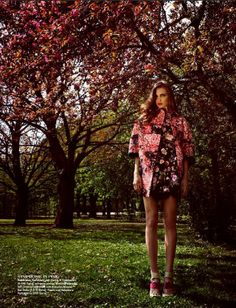 Valerie Svarovsky by Kosmas Pavlos for 1st Magazine May 2014
