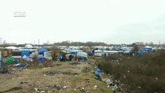 De vluchtelingen van het kamp in Calais stappen naar de rechter om hun uitzetting tegen te houden. De Franse overheid wil de helft van het kamp ...