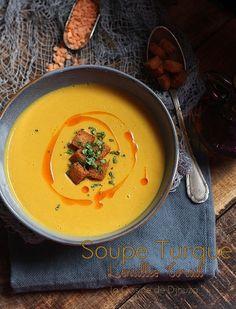 Turkish lentil soup with coral (mercimek çorbasi) Vegetarian Recipes, Cooking Recipes, Healthy Recipes, Canned Blueberries, Vegan Scones, Gluten Free Flour Mix, Scones Ingredients, Vegan Soup, Vegan Butter
