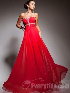 A-line Sweetheart Red Chiffon Long Prom Dress Formal Dress/ Evening Dress Lala 113557 Pretty Prom Dresses, Prom Dress 2014, Cheap Prom Dresses, Dresses 2014, Chiffon Evening Dresses, Chiffon Dress, Strapless Dress Formal, Formal Dresses, Evening Gowns