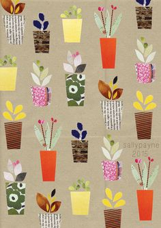 paper illustration: sally payne