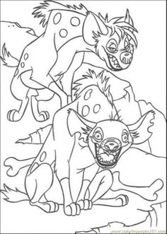 The Lion Guard Coloring Pages Printable guarda do Leo festa