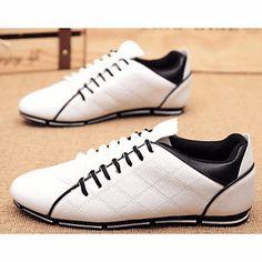 5fae83ea47d4   25.99  Hombre Zapatos Semicuero Verano Confort Oxfords Para Casual Blanco  Negro Azul