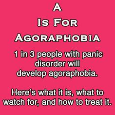Do you deal with chronic anxiety? This blog may help you - you are not alone.  EPBOT: A Is For Agoraphobia