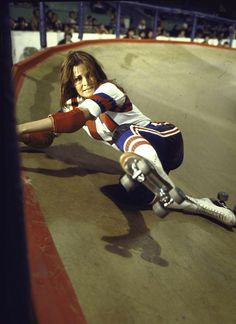 "Raquel Welch as K.C. Carr - ""Kansas City Bomber"" (1972) // Roller Derby"
