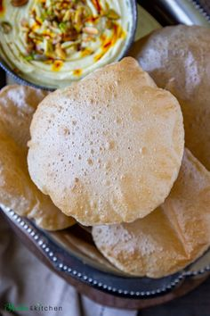 All the tips and tricks you need to make the perfect soft, fluffy, puffed poori. #indianbread #poori #puri #vegan #vegetarianfood #deepfried