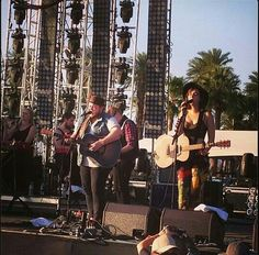 Of Monsters and Men at Coachella.