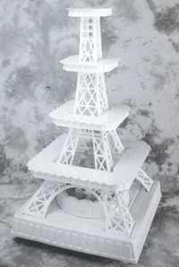 Discover thousands of images about Eiffel tower cake stand Cupcake Stand Wedding, Wedding Cake Stands, Paris Party, Paris Theme, Cake Pop Stands, Cupcake Stands, Paris Sweet 16, Sweet 16 Decorations, Debut Ideas