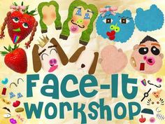 New app for kids - Face It Workshop: Design and Create Fun Faces to Teach Creativity