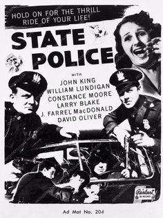 photo add slick crime film State Police 3761-36