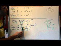 Curso de Alemán 11: Wer Wie Was (Quien Como Que)