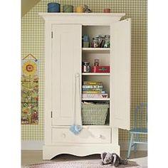 Antique White Double-Door Cottage Armoire review | buy, shop with friends, sale | Kaboodle
