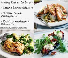 James Duigan Clean & Lean Diet Cookbook: Healthy Suppers Lettuce Wraps w/ hummus and cucumbers
