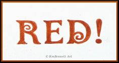 Touching the Canvas: RED!