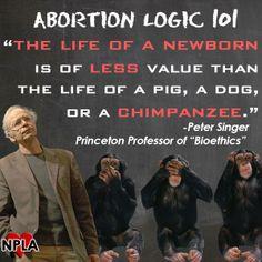 Peter Singer citation needed?