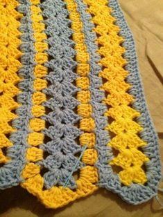 Cute crochet blanket ☂ᙓᖇᗴᔕᗩ ᖇᙓ