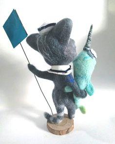 Creature 3d, 3d Illustrations, Curious Creatures, Magical Unicorn, Art Dolls, Dinosaur Stuffed Animal, Drawings, Animals, Animales