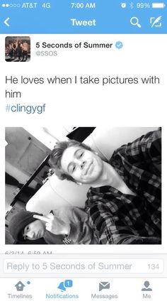 Calum is me whenever my parents try to take a picture with me.