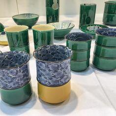 For those who love green  #japanesepottery #japaneseceramics #pottery #ceramics #kyoto #kyoyaki  #kiyomizuyaki
