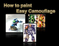How to paint: Easy Camouflage