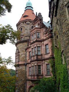 "bonitavista: "" Ksiaz Castle, Poland photo via rhonda """