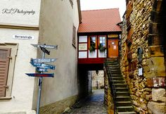 Freinsheim, Germany — by Together is our favorite place to be. Little house in Freinsheim in Germany.