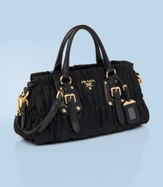 Prada top handle bag
