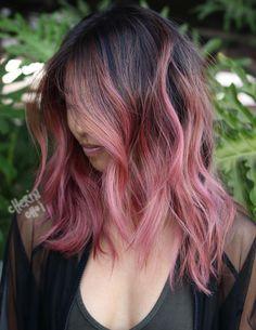Pinterest: DEBORAHPRAHA ♥️ Pink ombre hair color #haircolor