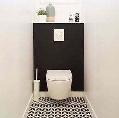 Although it is possible to effectively finish a bathroom renovating task without any previous experience, you might discover it a bit challenging to do so. That is why if you are aiming to perform your own bathroom improvement, however you don' Small Toilet Room, Guest Toilet, Downstairs Toilet, Tiny Bathrooms, Small Bathroom, Bathroom Ideas, Modern Bathrooms, Bathroom Designs, Bad Inspiration