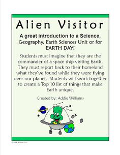 FREE activity for Earth Day! Requires students to use critical thinking skills and work together.