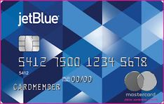 JetBlue's JetBlue card is widely accepted in the United States. This company offers many perks and benefits to their credit cardholders including airline miles and bonus points. For a small annual fee, JetBlue offers consumers an opportunity to earn miles toward free flights, hotel stays and other services as well as cash rebates for participating in special offers.JetBlue offers its client a card with many benefits including: special flight programs, discounts on cruises, gift cards for every p