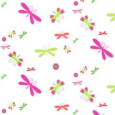 Bugs of Summer! - Summertime Fun! - Watermelon - © PinkSodaPop 4ComputerHeaven.com fabric by pinksodapop on Spoonflower - custom fabric