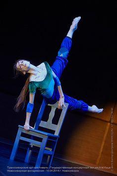 Svetlana Zakharova rehearsing Revelation for The Trans-Siberian Art Festival (April 2014). Photo by Victor Dmitriev