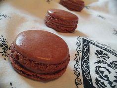 La repostería y yo : Macarons de chocolate y una alternativa si nos sal...