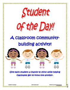 Great activity for the start of the school year to help classmates get to know one another.