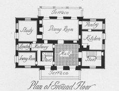 architect design™:ground floor  Le Pavillon de Madame, Verailles