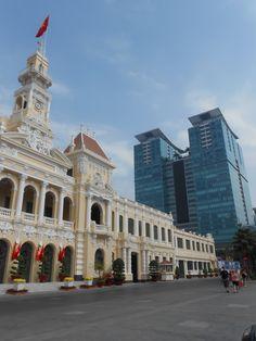 Choc architectural, Saigon