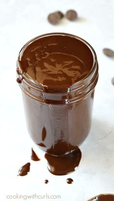 This Hot Fudge Sauce is lactose-free and super simple to make | cookingwithcurls.com