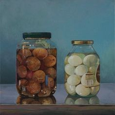James Mackinnon's Solo Exhibition Pickled Eggs, Onions, Artist, Food, Bulb, Onion, Meals, Artists